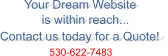 We can build your dream website